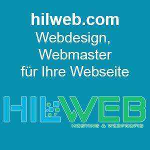 Hilweb.com - Webdesign, Webmaster für Ihre Webseite